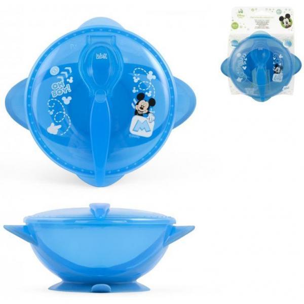 Set hranire pentru calatorii Mickey Mouse Lulabi 7966300 3