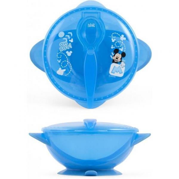 Set hranire pentru calatorii Mickey Mouse Lulabi 7966300 2