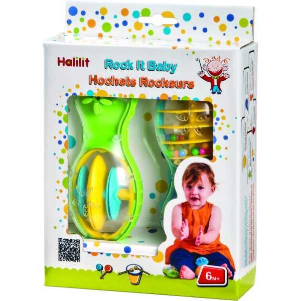Set jucarii muzicale rock it baby Halilit MS4302 0