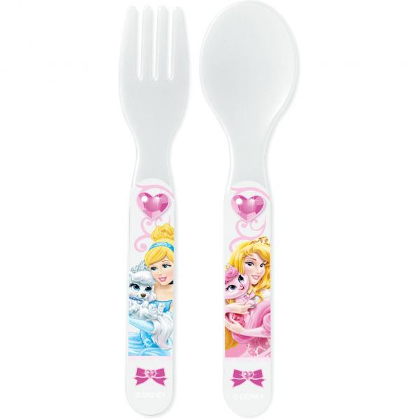 Set lingurita si furculita plastic Princess Pets Lulabi 8266800 0