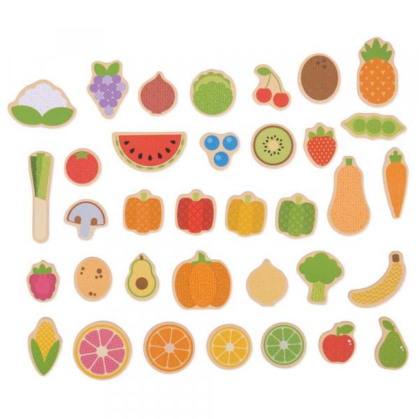 Set magnetic - Fructe si Legume 0