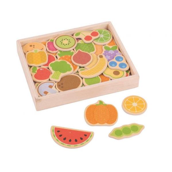 Set magnetic - Fructe si Legume 1