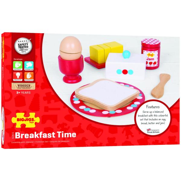 Set mic dejun din lemn 0