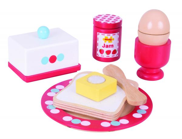 Set mic dejun din lemn 1