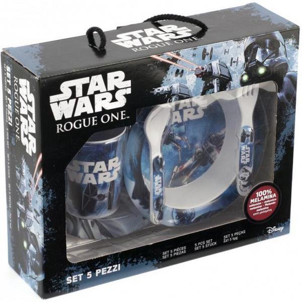 Set pentru masa melamina 5 piese Star Wars Rogue One Lulabi 8330500 3