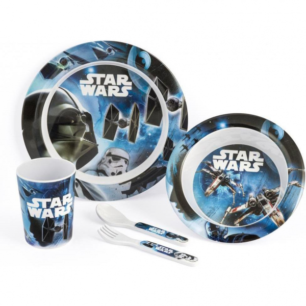 Set pentru masa melamina 5 piese Star Wars Rogue One Lulabi 8330500 0