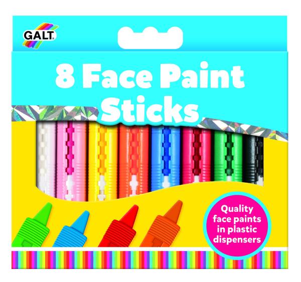 Set pictura pe fata in 8 culori 0