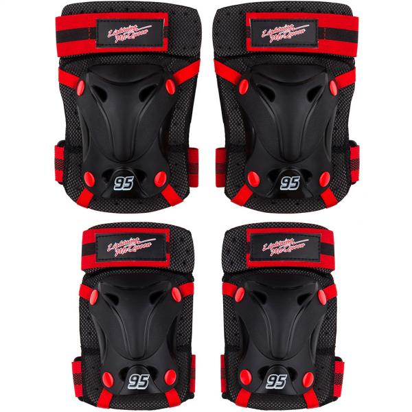 Set protectie Skate Cotiere Genunchiere Cars Seven SV9023 0