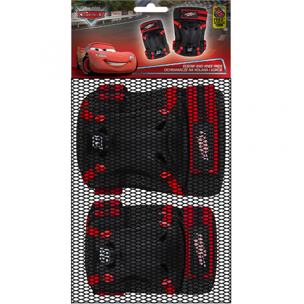 Set protectie Skate Cotiere Genunchiere Cars Seven SV9023 1