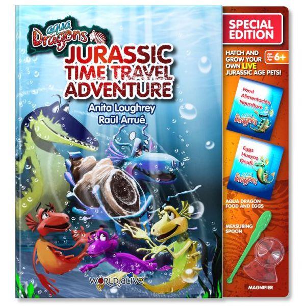 Set Reincarcare Aqua Dragons Jurassic Time Travel Adventure World Alive W4051 0