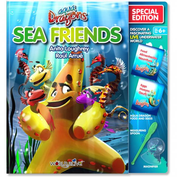 Set Reincarcare Aqua Dragons Sea Friends World Alive W4052 0