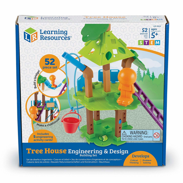 Set STEM - Casuta din copac 3