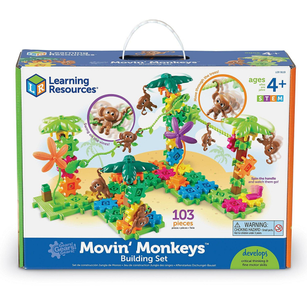 Setul constructorului - maimutele buclucase 0