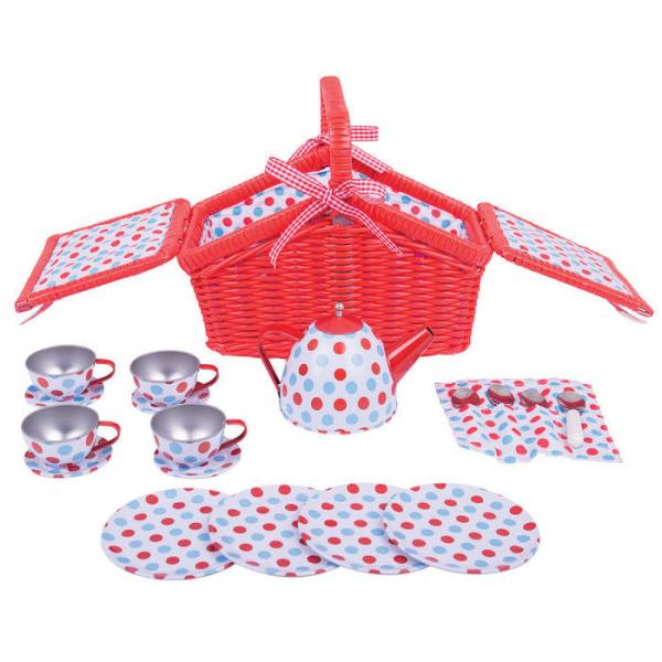 Setul meu de picnic cu buline 1