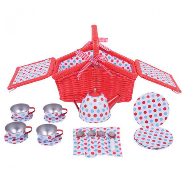 Setul meu de picnic cu buline 2