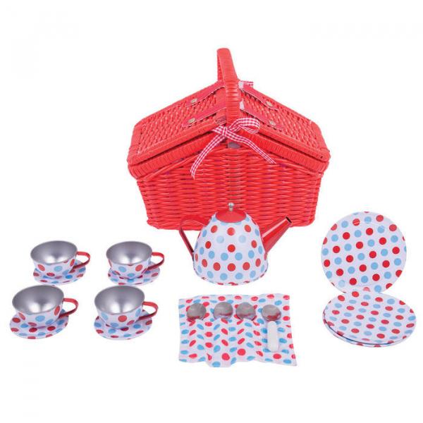 Setul meu de picnic cu buline 3