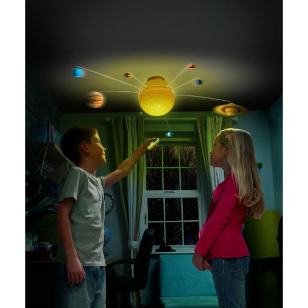 Sistem solar luminos cu telecomanda Brainstorm Toys E2002 2