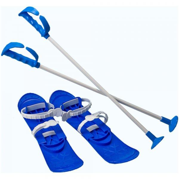 Skiuri Junior - Marmat - Albastru 0