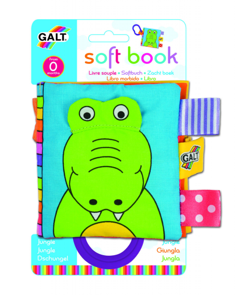 Soft Book: Carticica moale Jungle 0