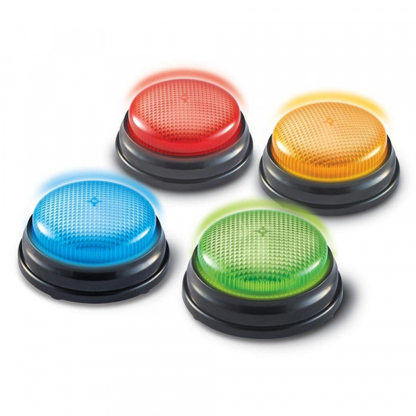 Sonerii cu lumini si sunete pentru raspuns - set 4 buc 0
