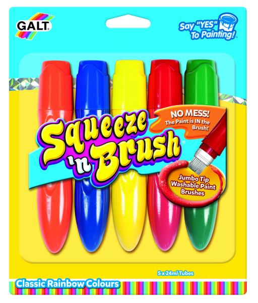 Squeeze'n Brush - 5 culori 0