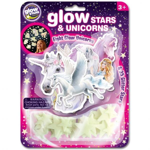 Stele si unicorni fosforescenti The Original Glowstars Company B8627 0