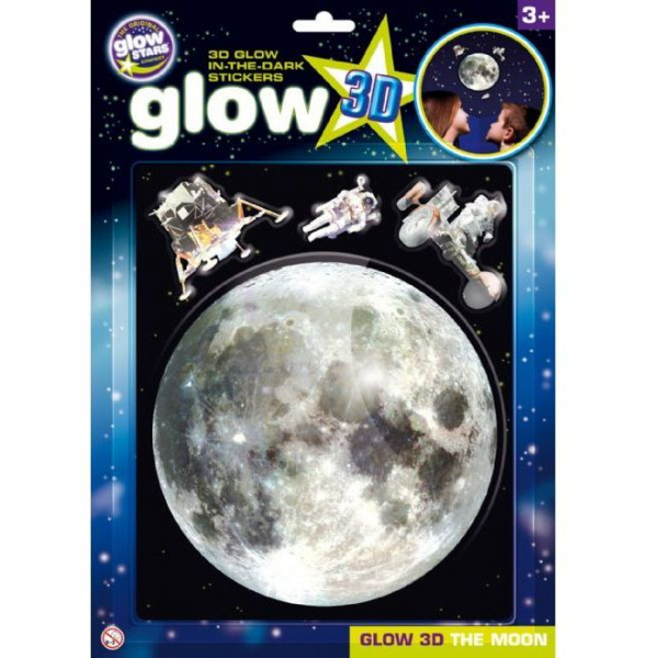 Stickere 3D - Luna The Original Glowstars Company B8106 0