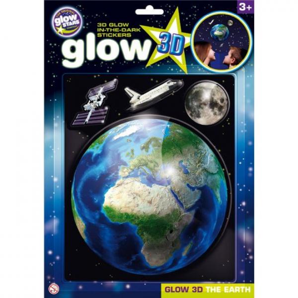Stickere 3D - Planeta Pamant The Original Glowstars Company B8105 0