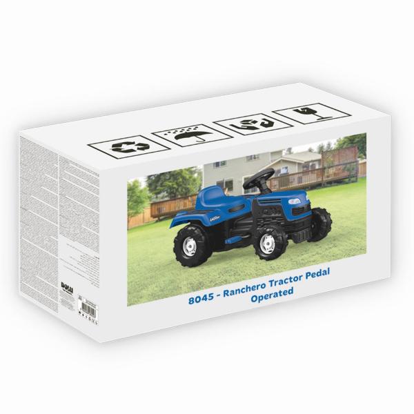 Tractor cu pedale - albastru 1