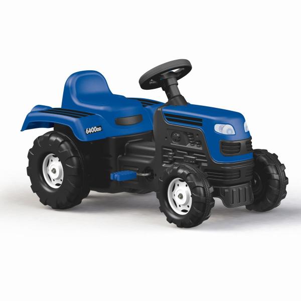 Tractor cu pedale - albastru 0