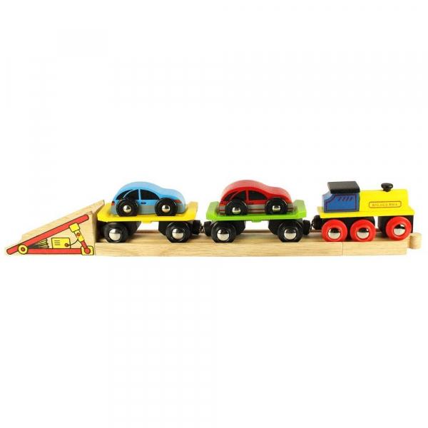 Trenulet cu platforma auto 1