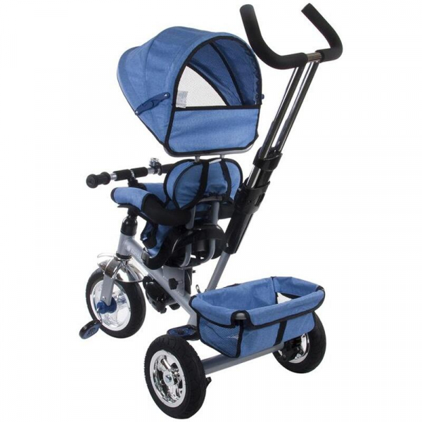 Tricicleta Confort Plus - Sun Baby - Melange Albastru [5]