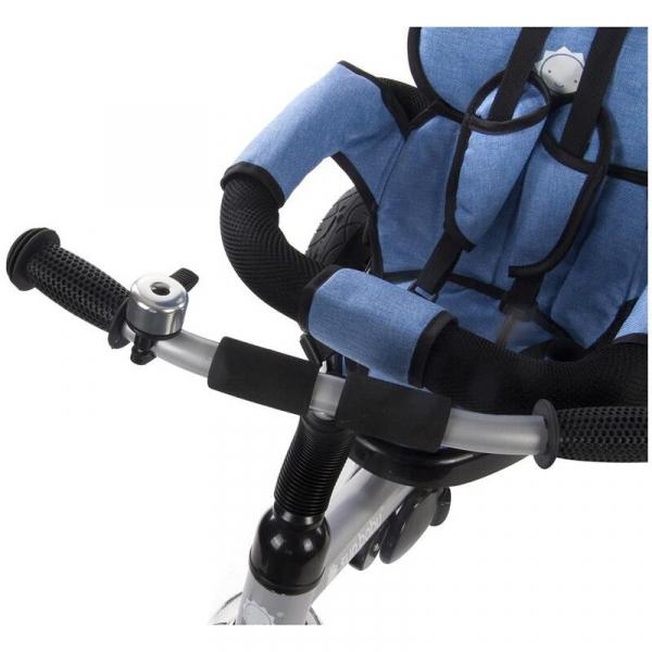 Tricicleta Confort Plus - Sun Baby - Melange Albastru 7