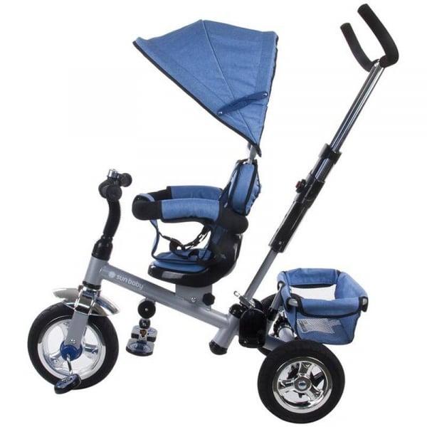 Tricicleta Confort Plus - Sun Baby - Melange Albastru [1]