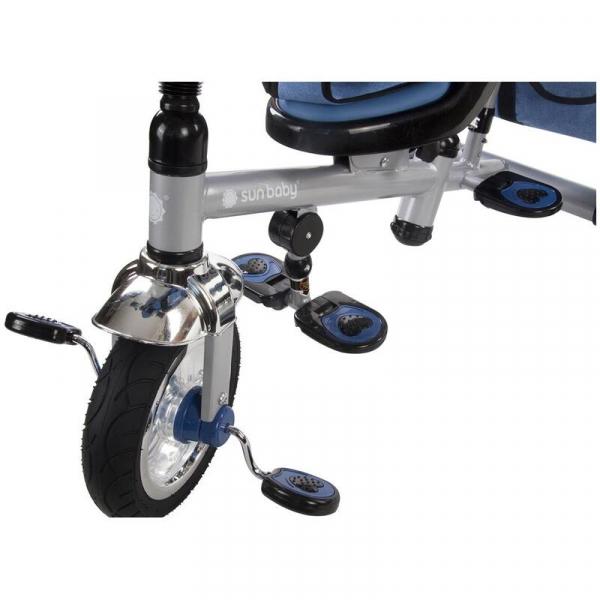 Tricicleta Confort Plus - Sun Baby - Melange Albastru [8]