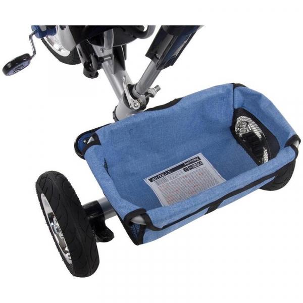 Tricicleta Confort Plus - Sun Baby - Melange Albastru [6]