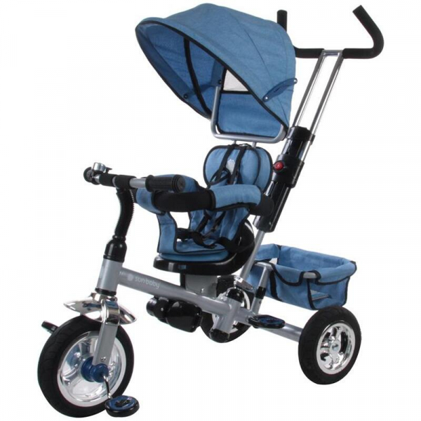 Tricicleta Confort Plus - Sun Baby - Melange Albastru 0