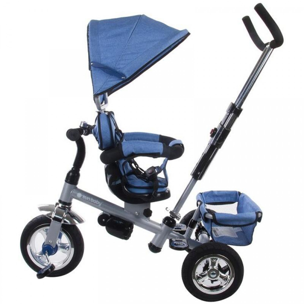 Tricicleta Confort Plus - Sun Baby - Melange Albastru [2]
