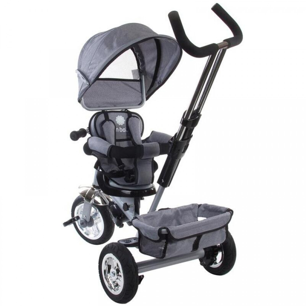 Tricicleta Confort Plus - Sun Baby - Melange Gri 3