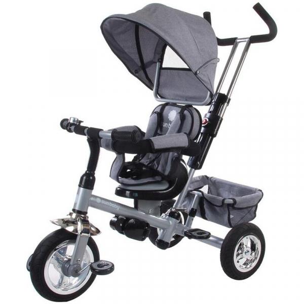 Tricicleta Confort Plus - Sun Baby - Melange Gri 0