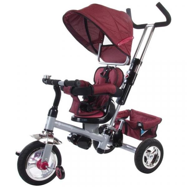 Tricicleta Confort Plus - Sun Baby - Melange Rosu [0]