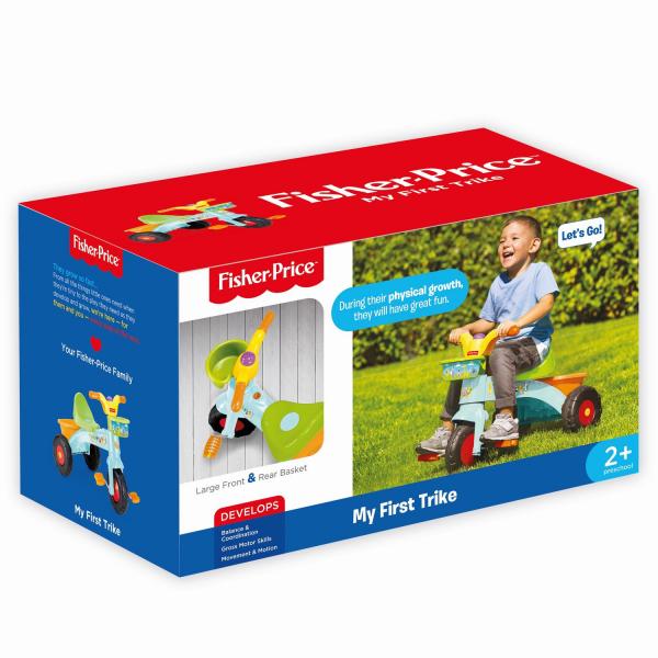 Tricicleta copii - My first trick 2