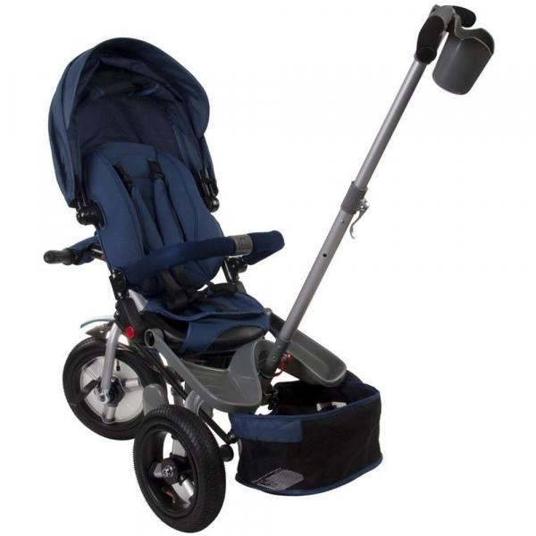 Tricicleta multifunctionala Little Tiger T400 - Sun Baby - Albastru 2