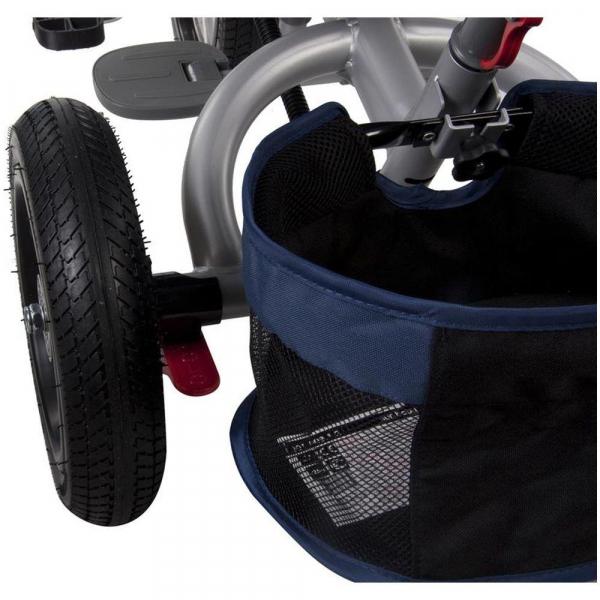 Tricicleta multifunctionala Little Tiger T400 - Sun Baby - Albastru 4
