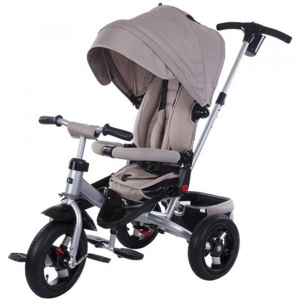 Tricicleta multifunctionala Little Tiger T400 - Sun Baby - Bej 0