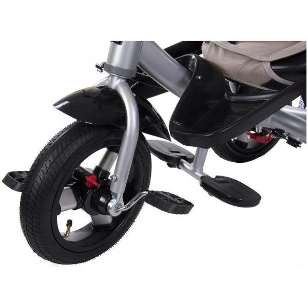 Tricicleta multifunctionala Little Tiger T400 - Sun Baby - Bej 5