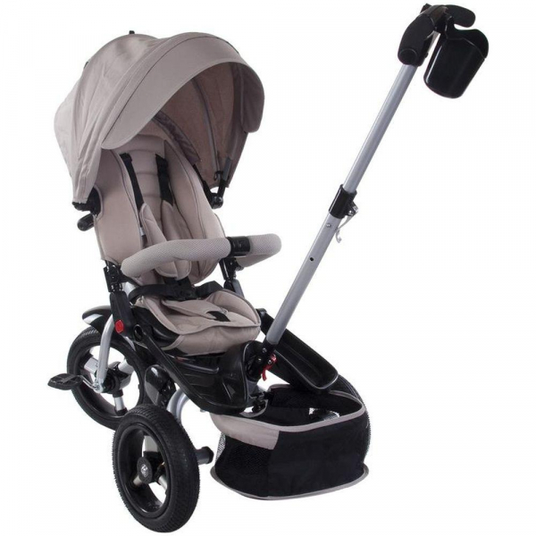 Tricicleta multifunctionala Little Tiger T400 - Sun Baby - Bej 2