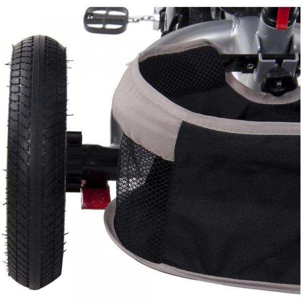 Tricicleta multifunctionala Little Tiger T400 - Sun Baby - Bej 4