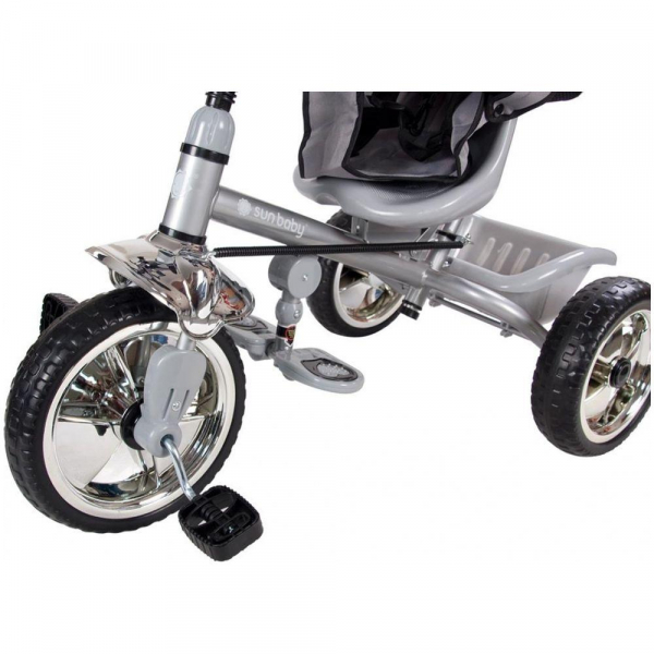 Tricicleta Super Trike - Sun Baby - Gri 3