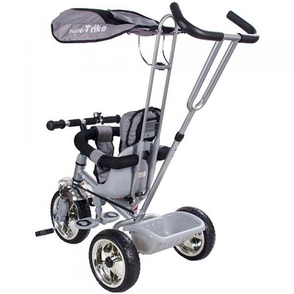 Tricicleta Super Trike - Sun Baby - Gri 1